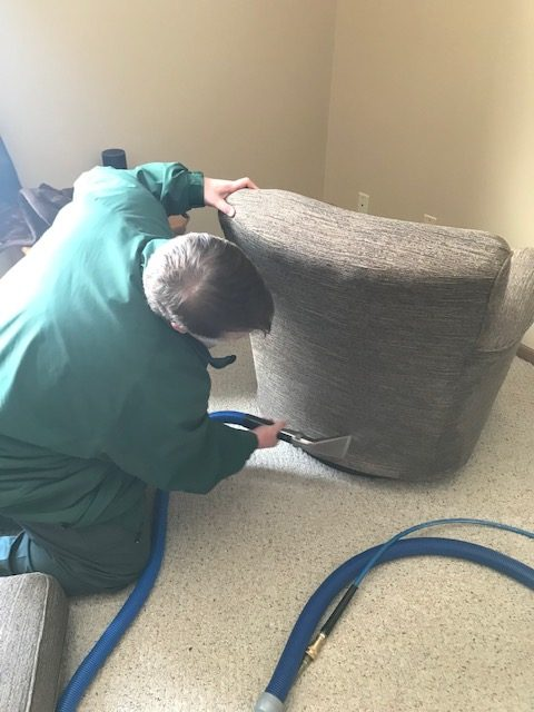 Residential Furniture Cleaning